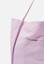 Rubi - Amelia tote - frosty lilac