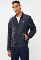 POLO - Sierra cotton harrington jacket - blue