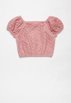 Superbalist - Off the shoulder blouse - pink