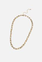 Rubi - Luxe layers statement necklace - gold