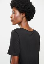 Jacqueline de Yong - Finja top - black