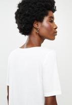 Jacqueline de Yong - Finja top - white
