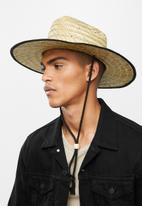 Superbalist - Unisex Woven straw hat - brown