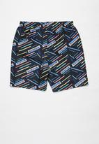 Rebel Republic - Tween boys board  shorts - multi