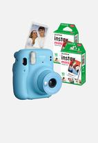 Fujifilm - Instax mini 11 camera combo - blue