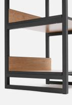 Sixth Floor - Hang-it modular wardrobe - natural & black