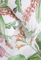 Sixth Floor - Botanical cotton digital print duvet cover - multi