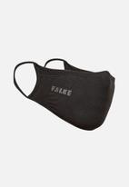 Falke - Falke 5 pack double layer face masks - black