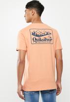 Quiksilver - Old habit short sleeve tee - orange