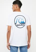 Quiksilver - Flow ride short sleeve tee - white