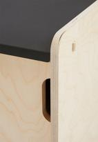 Emerging Creatives - Snap-fit bedside table - natural