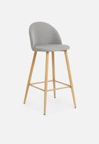 Sixth Floor - Slate kitchen stool - grey