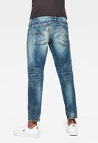 G-Star RAW - Scutar 3d slim tapered-elto pure stretch denim - antic faded baum blue