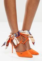Plum - Gadara heel - orange