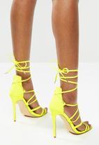Madison® - Luna heel  - neon yellow