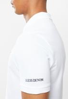 GUESS - Guess classic golfer -  white