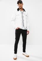 GUESS - Denim sherpa jackets - cream