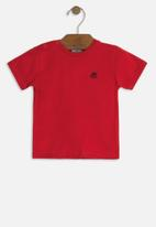 UP Baby - Baby boys basic tee - red