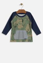 UP Baby - Baby boys single jersey printed tee - multi