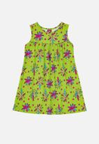 Bee Loop - Girls floral dress - multi