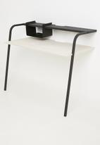 Emerging Creatives - Oxford leaning desk - black