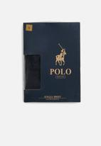 POLO - Rob plain knit briefs - black
