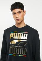 PUMA - Rebel crew 5 continents track top - puma black