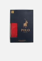 POLO - Cody plain knit boxer - red