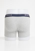 POLO - Cody plain knit boxer - grey