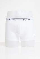 POLO - Cody plain knit boxer - white