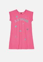 Bee Loop - Girls mermaid dress - pink