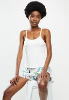 Superbalist - Sleep cami & shorts set - splatter