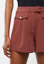 Vero Moda - Ofelia shorts - sable