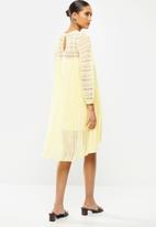 MANGO - Dress marie - yellow