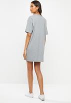 Vans - Center vee tee dress - grey