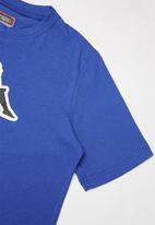 KAPPA - Logo zobi tee - blue
