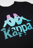 KAPPA - Authentic cardy tee - black