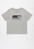 Fox - Drifter boys short sleeve tee - grey