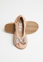 Cotton On - Kids primo ballet flat - rose gold