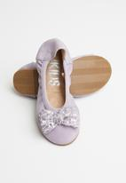 Cotton On - Kids primo ballet flat - lilac