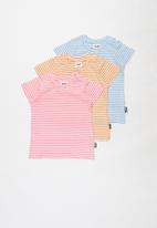 Cotton On - 3 pack jamie short sleeve tee - multi