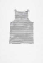 Free by Cotton On - Luna tank - navy stripe