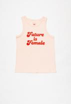 Free by Cotton On - Luna tank - crystal pink