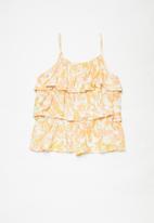 Free by Cotton On - Cassie cami - vanilla & garden floral