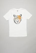 Cotton On - Downtown short sleeve tee - white
