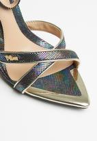 Plum - Margot heel - black