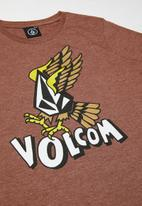 Volcom - Air strike short sleeve tee - pumice melange
