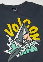 Volcom - Sharkish boys short sleeve tee - ombre navy