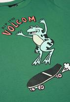 Volcom - Rip it boys short sleeve tee - forest green