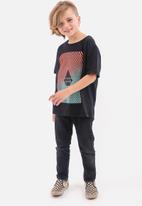 Volcom - Floation boys short sleev tee - black